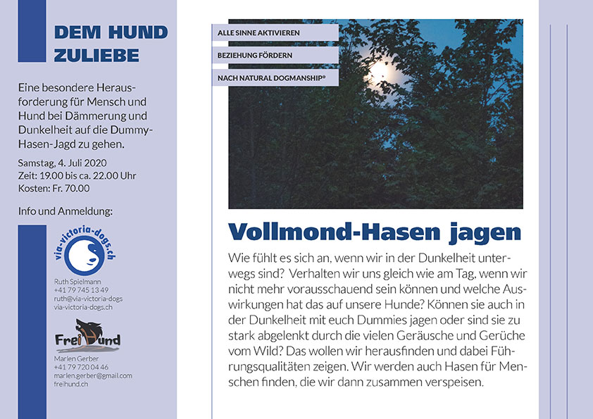 Flyer Vollmondhasen